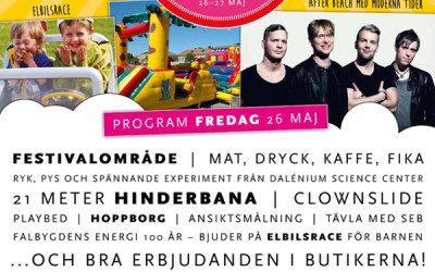 Stadsfest i Falköping