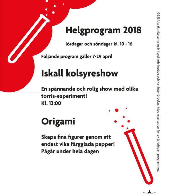 Helgprogram
