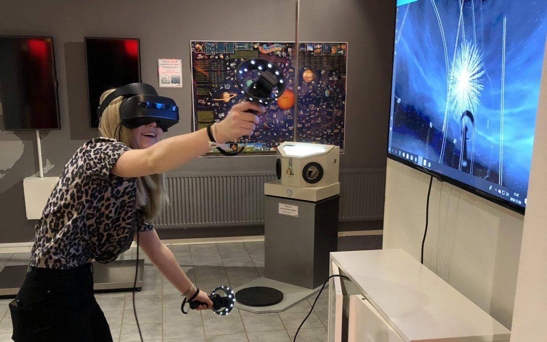 VR och show på jullovet!