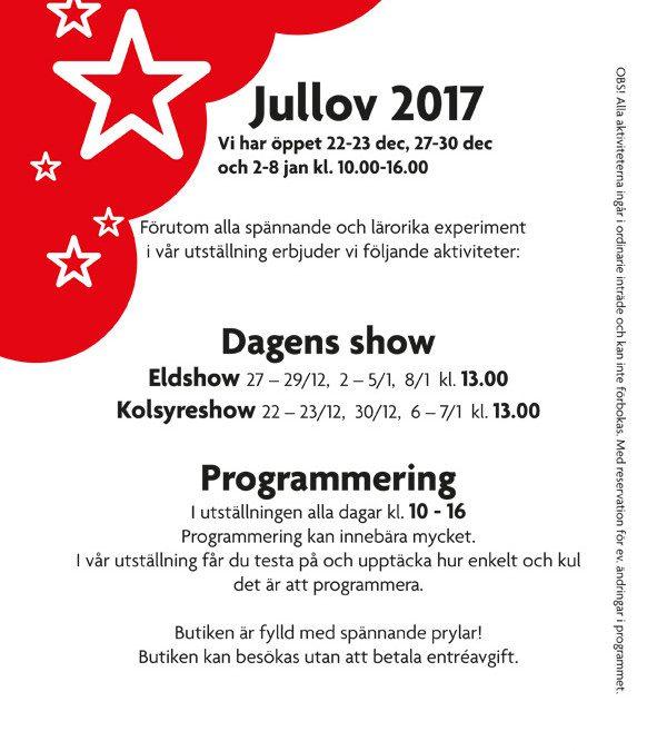 Jullovsprogram 2017