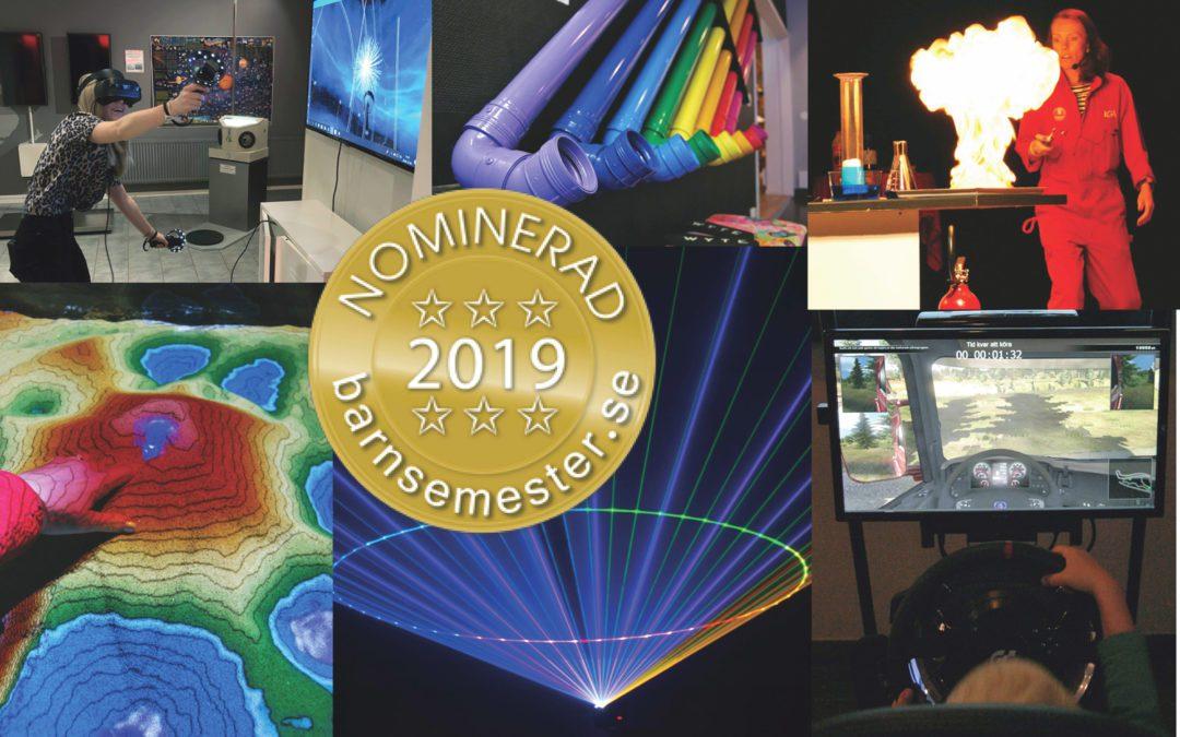Rösta på bästa science centret!