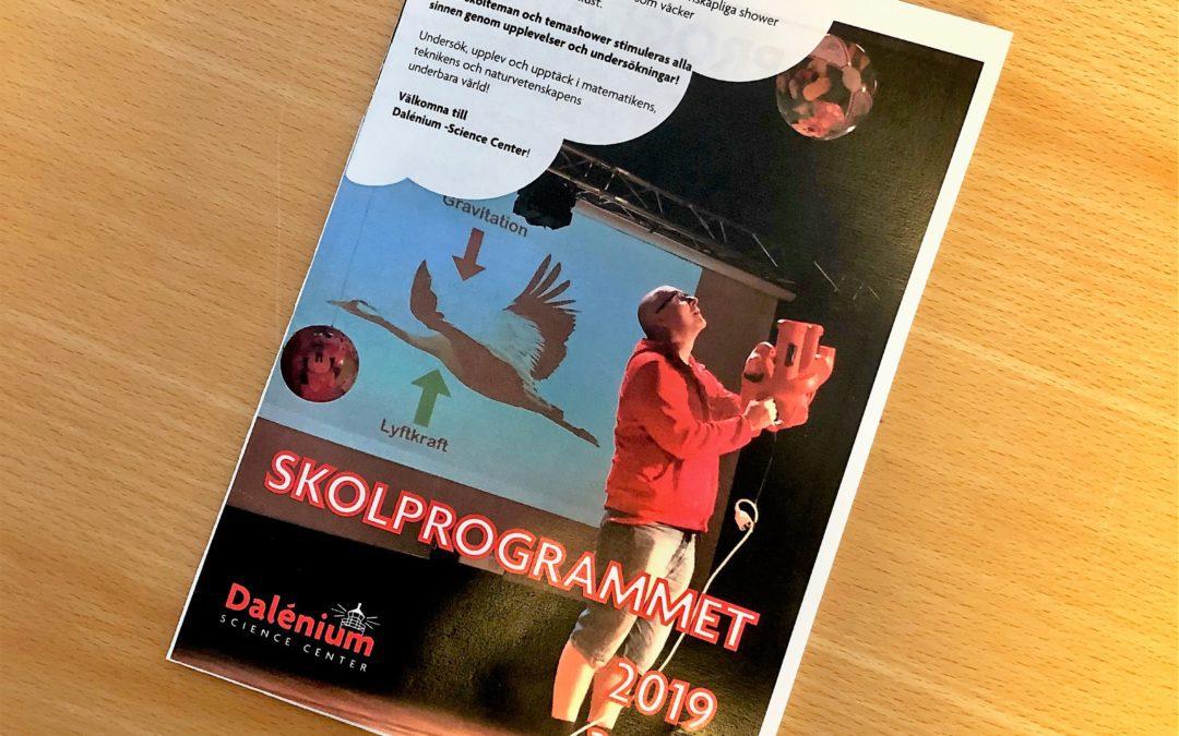 Skolprogrammet 2019/2020 är nu släppt!
