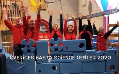Sveriges bästa Science Center 2020!