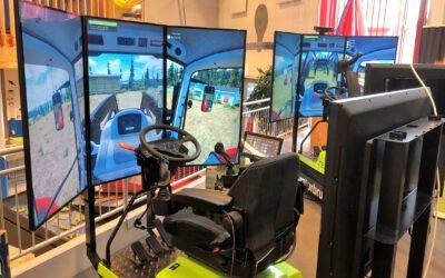 Full fart i Simulatorcentret!